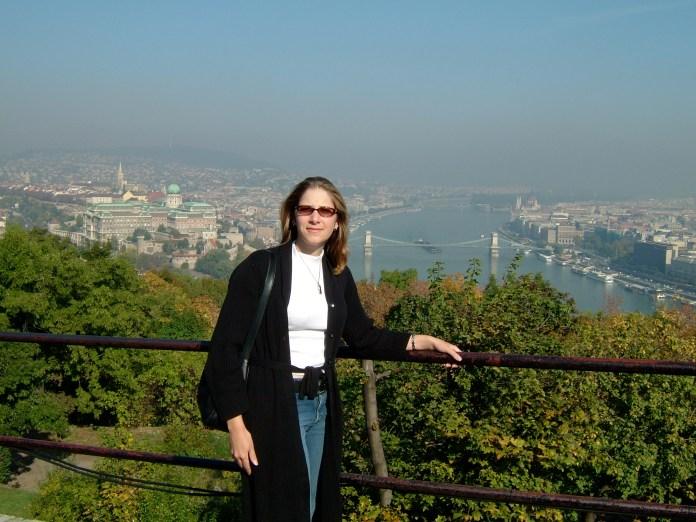 Overlooking Budapest