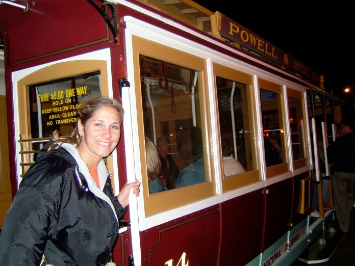 All aboard the trolley