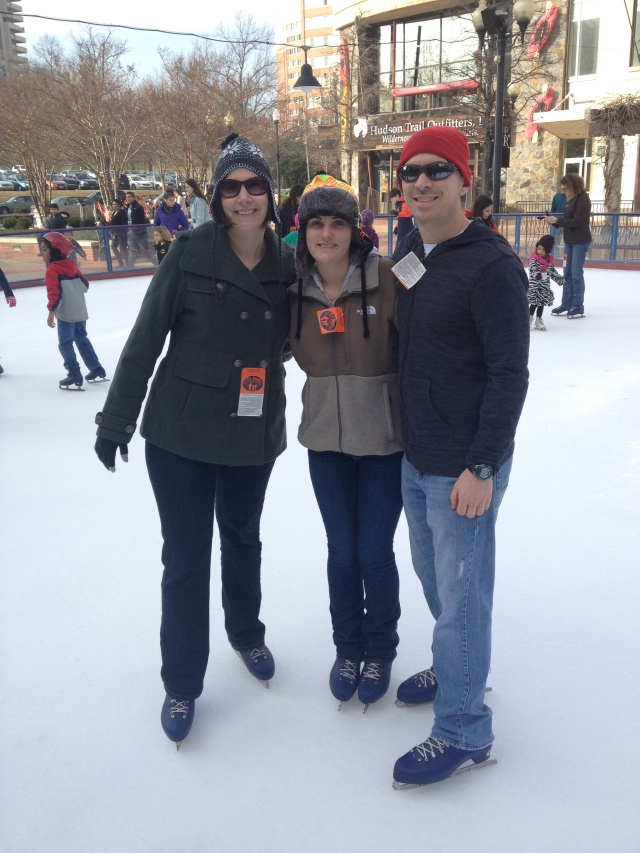 Me, Victoria, and Rob