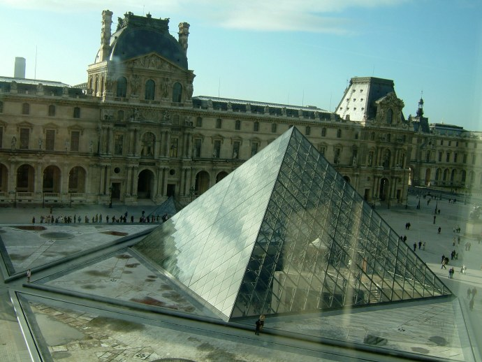 I didn't make it to the Lourve during my first trip to Paris.  I wasn't about to miss it twice!
