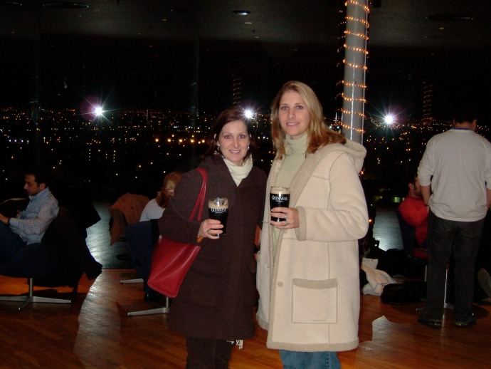 Billie and I at the Guinness Storehouse