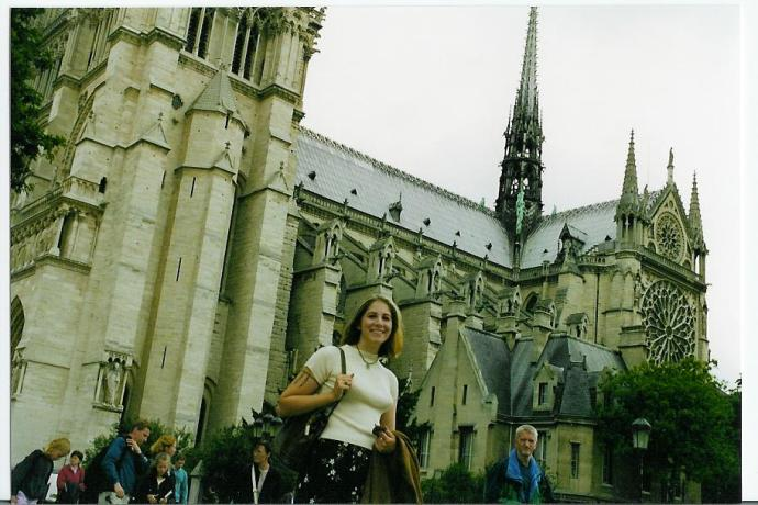 Outside Notre Dame